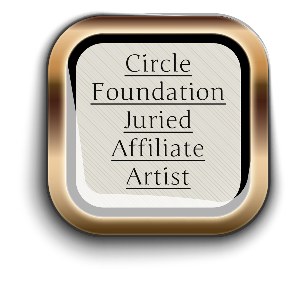 CFA Affiliate Artist Badge