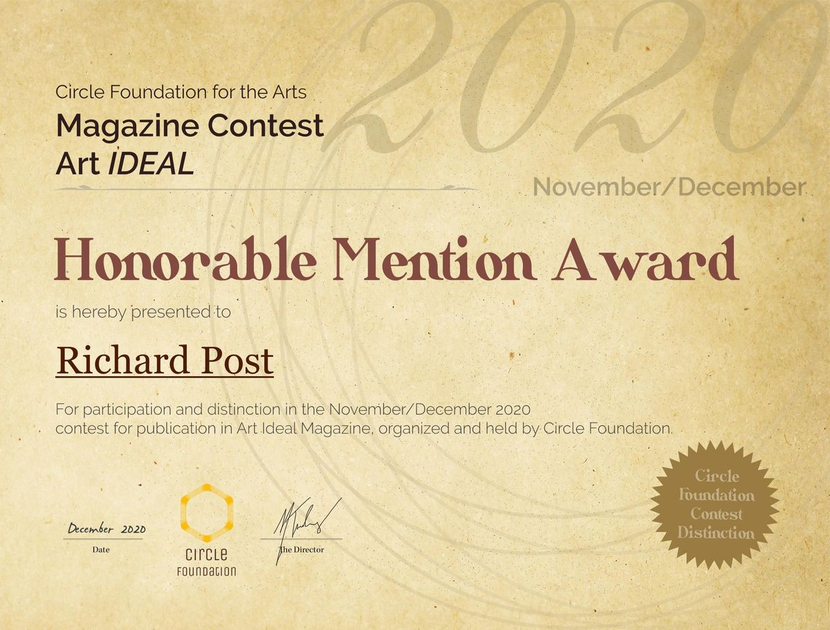 CFAContest_HonorableMentionAward__Richard Post 2020 clearing in the forest